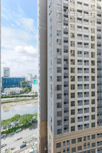 View Căn hộ Masteri Millennium tầng trung, 2PN đầy đủ nội thất