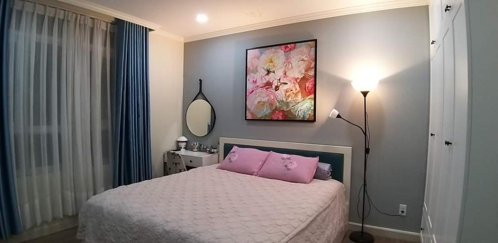 phòng ngủ căn hộ Him Lam Chợ Lớn Căn hộ Him Lam Chợ Lớn tầng trung, đầy đủ nội thất.
