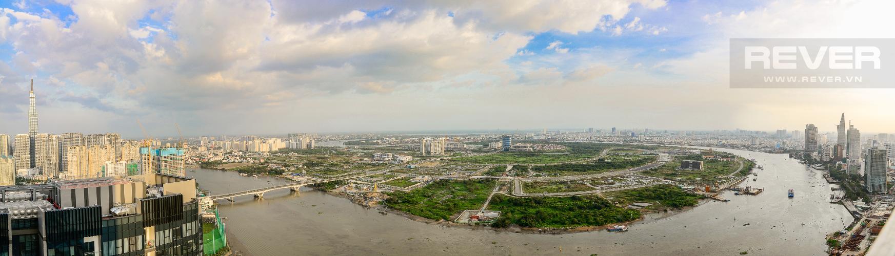 View Căn hộ Vinhomes Golden River tầng cao, tháp The Aqua 4, 4PN, view sông Sài Gòn