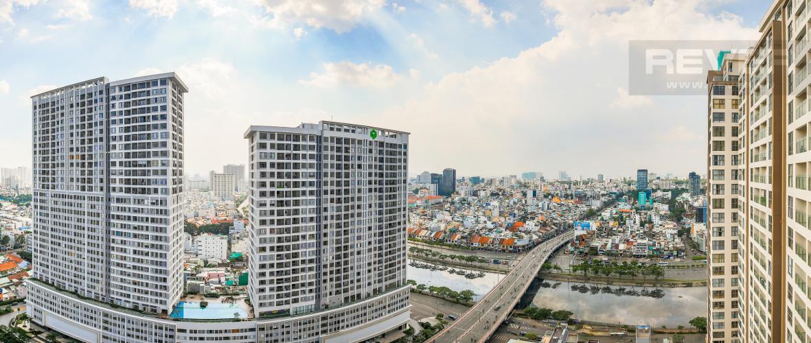 View Căn hộ Masteri Millennium tầng cao view sông, 2PN đầy đủ nội thất
