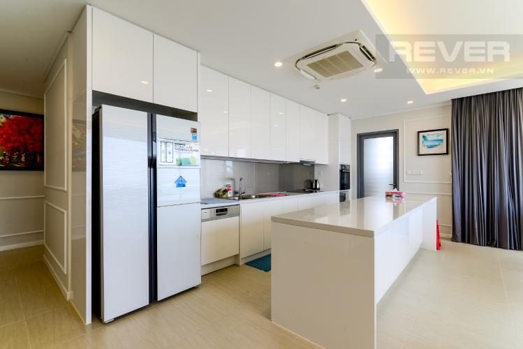 Bếp Cho thuê căn hộ Diamond Island - Đảo Kim Cương 3PN, tháp Bora Bora, đầy đủ nội thất, view sông thoáng đãng