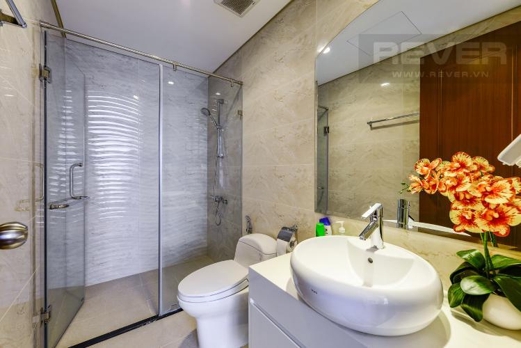 Phòng tắm 1 Căn hộ Vinhomes Central Park 2 phòng ngủ tầng cao L3 đầy đủ tiện nghi