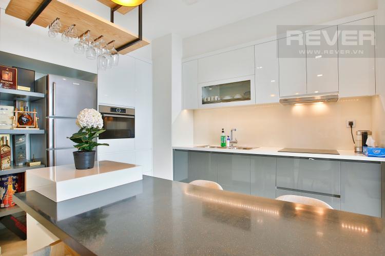 Bếp Căn hộ Vinhomes Golden River 2 phòng ngủ tầng cao A4 view sông