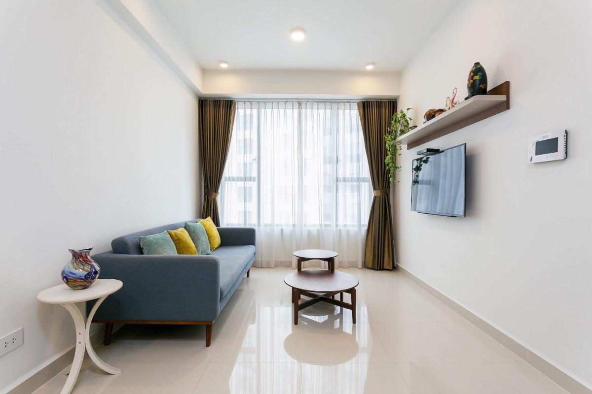 6fca0cabfec0189e41d1 Cho thuê căn hộ The Tresor 2 phòng ngủ, tháp TS1, đầy đủ nội thất, view sông Sài Gòn
