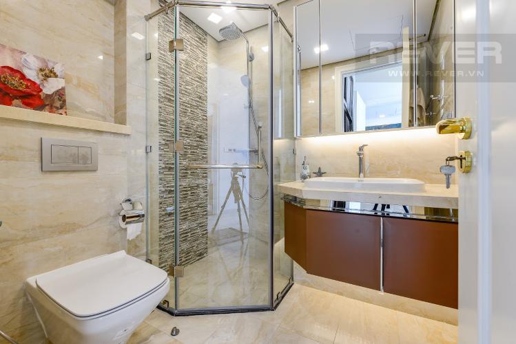 Phòng tắm 2 Căn hộ Vinhomes Golden River tầng cao, tháp Aqua 3, 2 phòng ngủ, full nội thất