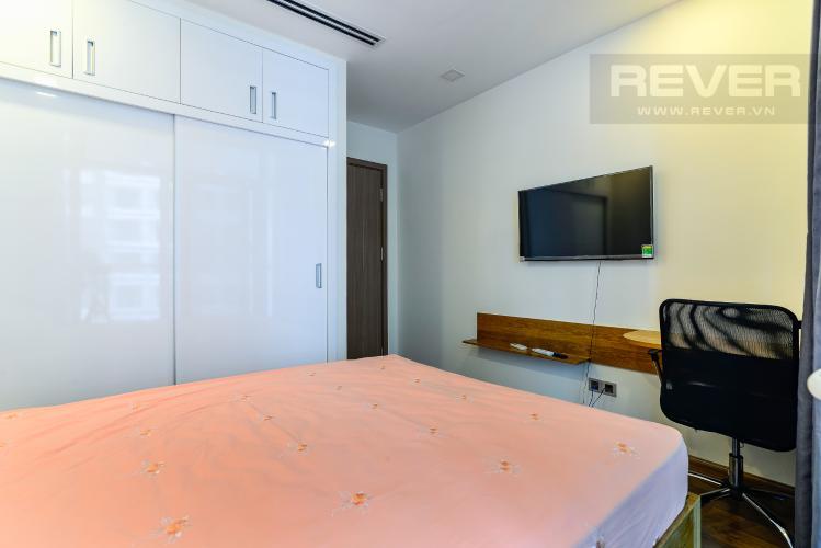 Phòng Ngủ Căn hộ Vinhomes Central Park tầng trung, 1PN, đầy đủ nội thất, view sông