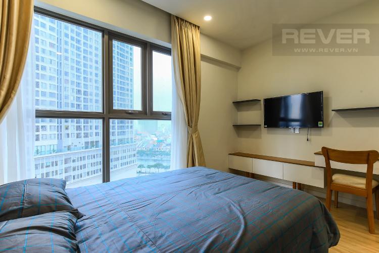 Phòng Ngủ 3 Cho thuê căn hộ Masteri Millennium tầng trung 3PN đầy đủ nội thất, diện tích rộng rãi