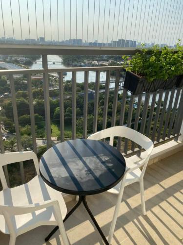 View Sunrise Riverside Căn hộ Sunrise Riverside tầng trung, đầy đủ nội thất, view sông.