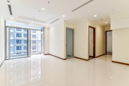 Căn hộ Vinhomes Central Park 2 phòng ngủ tầng cao L5 nhà trống