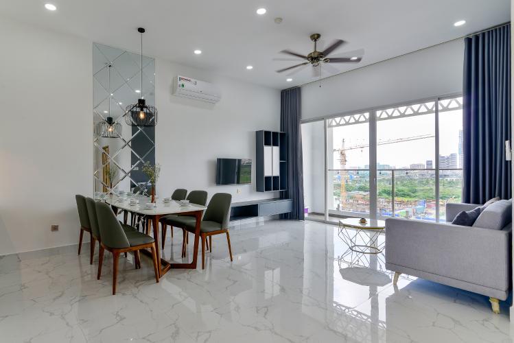 Cho thuê căn hộ Thủ Thiêm Lakeview 2 phòng ngủ, đầy đủ nội thất cao cấp, view Landmark 81