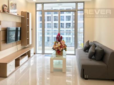 Cho thuê căn hộ 1 phòng ngủ Vinhomes Central Park, tháp Park 7, đầy đủ nội thất, view sông và công viên