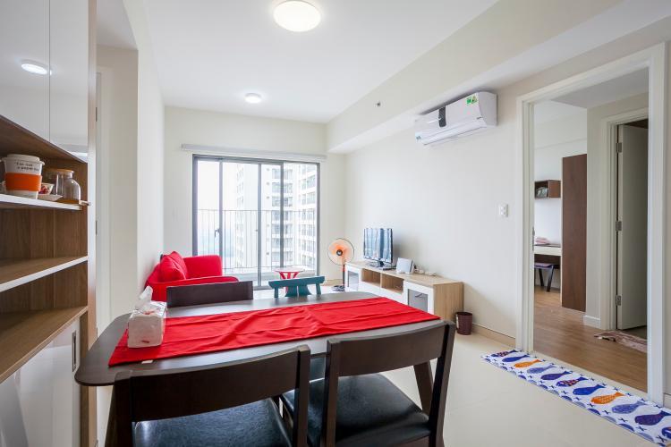 Căn hộ Masteri Thảo Điền 2 phòng ngủ tầng cao T5 đầy đủ nội thất