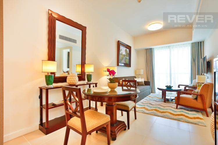 Phòng Khách Căn hộ Gateway Thảo Điền 1 phòng ngủ tầng trung tháp B nội thất đầy đủ