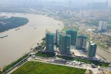 Toàn cảnh đảo Kim Cương, nơi các dự án sẽ hưởng lợi từ cây cầu 500 tỷ