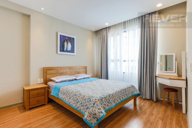 Phòng Ngủ 1 Căn hộ The Gold View 2 phòng ngủ tầng trung A2 đầy đủ nội thất