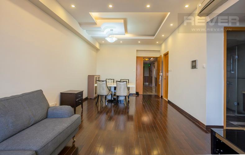 Tổng Quan Căn hộ Saigon Pearl 2 phòng ngủ tầng cao Ruby 1 view sông