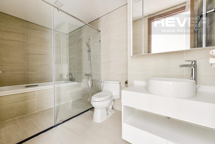 Phòng tắm 1 Căn hộ Vinhomes Central Park 4 phòng ngủ tầng cao P2 view sông
