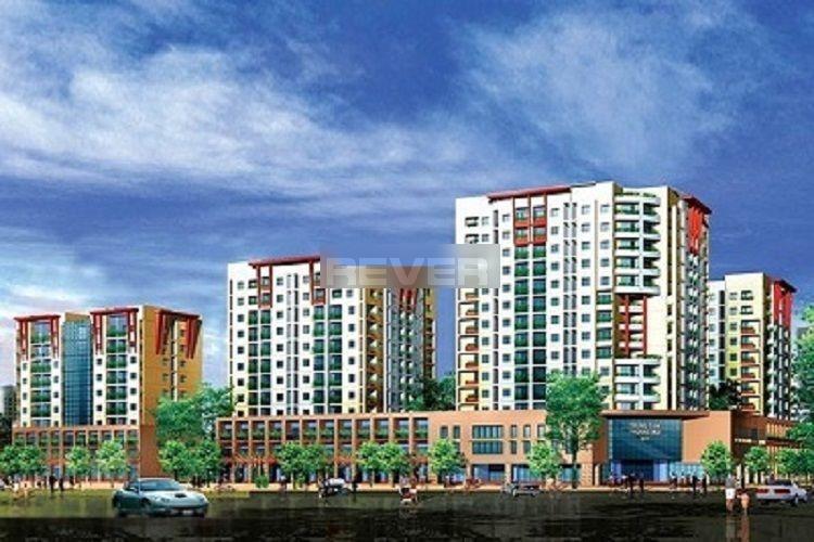 Chung cư Phú Thọ, Quận 11 Căn hộ chung cư Phú Thọ tầng trung, view sân bóng, nội thất cơ bản.