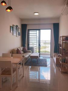 Cho thuê căn hộ The Sun Avenue 2PN, đầy đủ nội thất, view sông Sài Gòn và Đảo Kim Cương