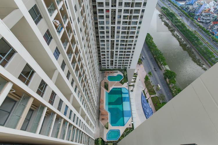 View Căn hộ The Gold View 1 phòng ngủ tầng cao A3 view nội khu