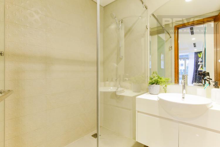 Phòng Tắm 1 Căn hộ Vinhomes Central Park tầng thấp Landmark 3 thiết kế hiện đại, trẻ trung