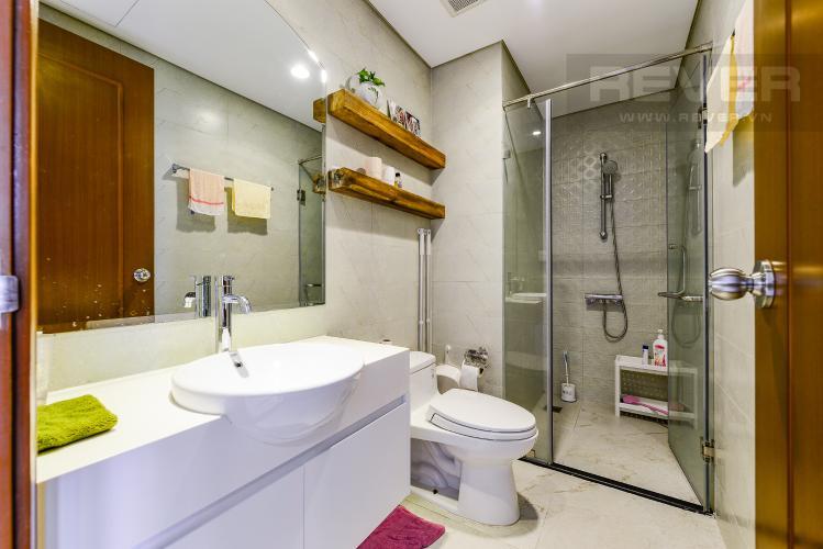 Phòng tắm Cho thuê căn hộ Vinhomes Central Park tầng cao, view đẹp, đầy đủ nội thất