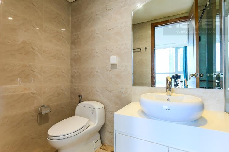 Phòng Tắm 1 Căn hộ Vinhomes Central Park 3 phòng ngủ tầng cao L2 đầy đủ nội thất
