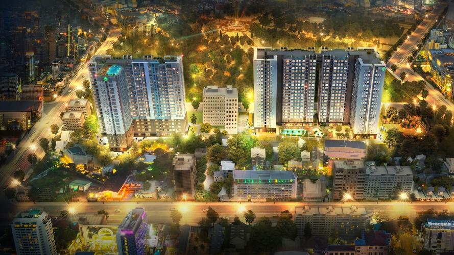 Botanica Premier, Tân Bình Căn hộ Botanica Premier tầng trung, hướng Đông view thành phố.