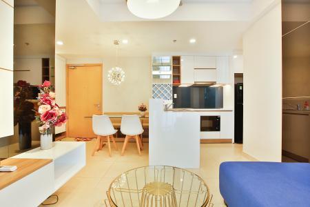 Căn hộ Masteri Thảo Điền 2 phòng ngủ tầng cao T2 hướng Đông Nam