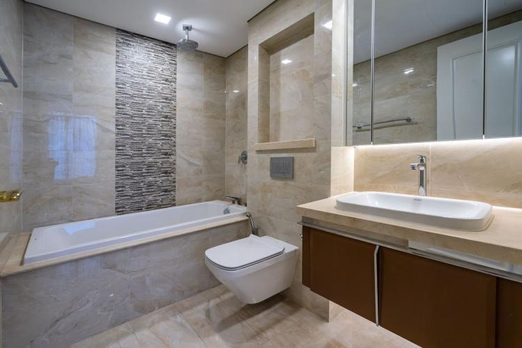 Toilet Cho thuê căn hộ Vinhomes Golden River 3PN 2WC, đầy đủ nội thất, view thành phố