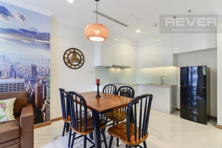 Phòng Ăn & Bếp Căn hộ Vinhomes Central Park 1 phòng ngủ tầng cao Landmark 1