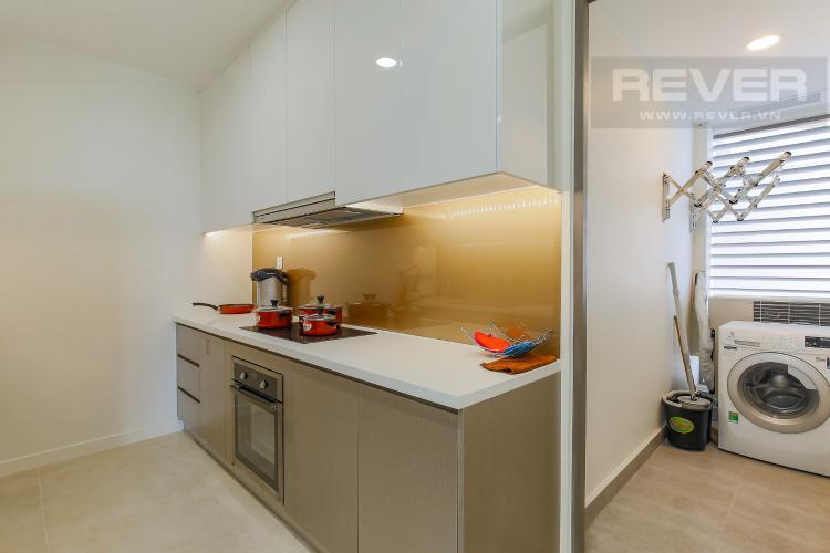 Phòng Bếp Căn hộ Masteri Millennium tầng cao, block A, 2PN đầy đủ nội thất