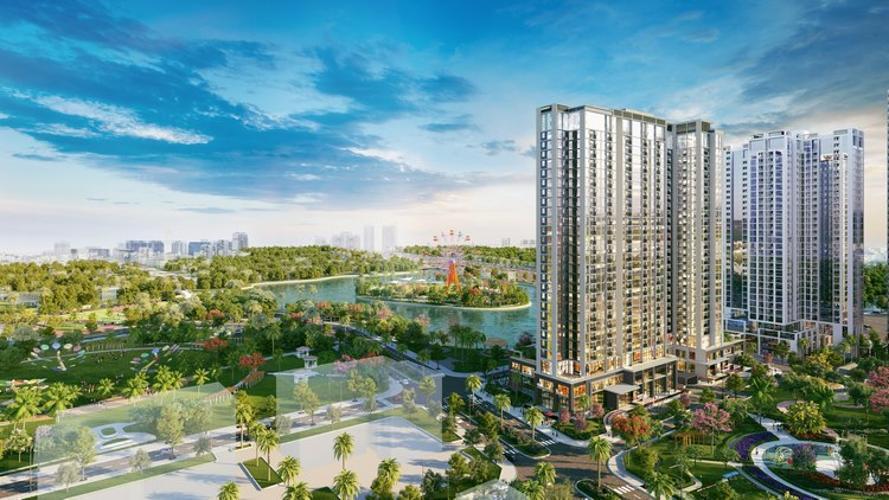 Eco Green Saigon, Quận 7 Căn hộ tầng cao Eco Green Saigon hướng Tây, view đón gió mát.