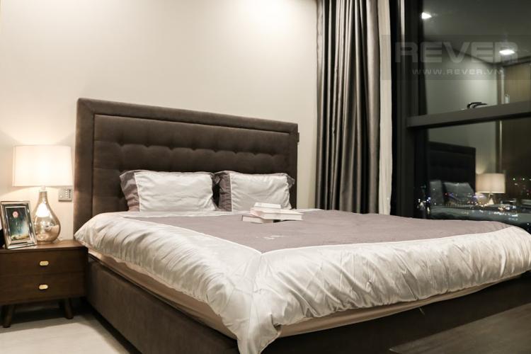 Phòng Khách 1 Bán hoặc cho thuê căn hộ Vinhomes Golden River 2PN, tầng trung, đầy đủ nội thất, view sông Sài Gòn