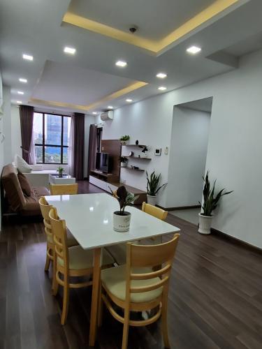 Phòng bếp căn hộ Icon 56, Quận 4 Căn hộ chung cư Icon-56 đầy đủ nội thất, view thành phố sầm uất.