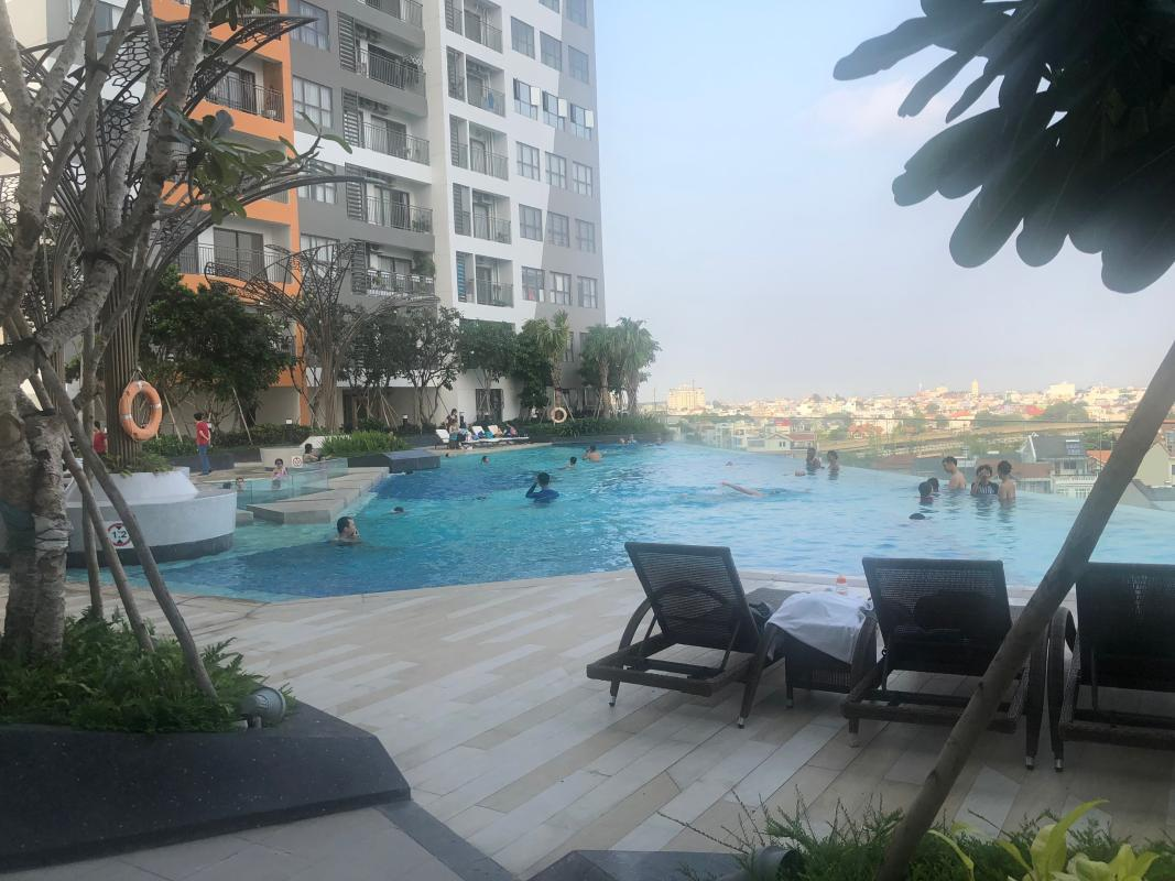 58670474a2d0458e1cc1 Bán officetel The Sun Avenue 1 phòng ngủ, block 8, diện tích 51m2, view sông thoáng mát