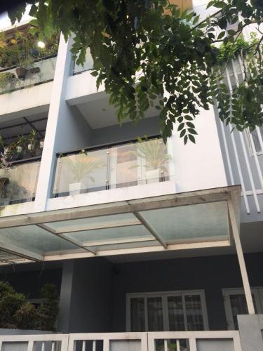 Mặt trước nhà phố Bình An, quận 2 Nhà 1 trệt 2 lầu phường Bình An, quận 2 view thoáng mát ngắm Landmark