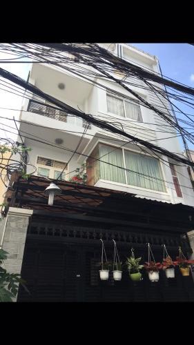 Bán nhà hẻm ôtô 4m Q. Bình Thạnh, diện tích rộng 6.4x16.5m,  dân cư sầm uất, sổ hồng pháp lý đầy đủ.