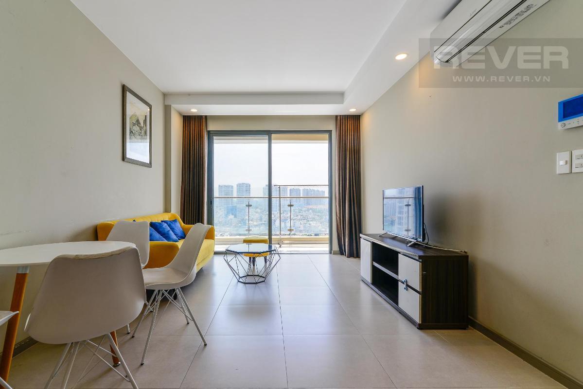 1 Bán hoặc cho thuê căn hộ The Gold View tầng trung, diện tích 80m2, đầy đủ nội thất, view thành phố