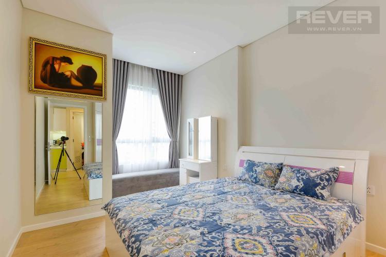Phòng Ngủ 1 Cho thuê căn hộ Diamond Island - Đảo Kim Cương 1PN, tầng thấp, tháp Canary, đầy đủ nội thất