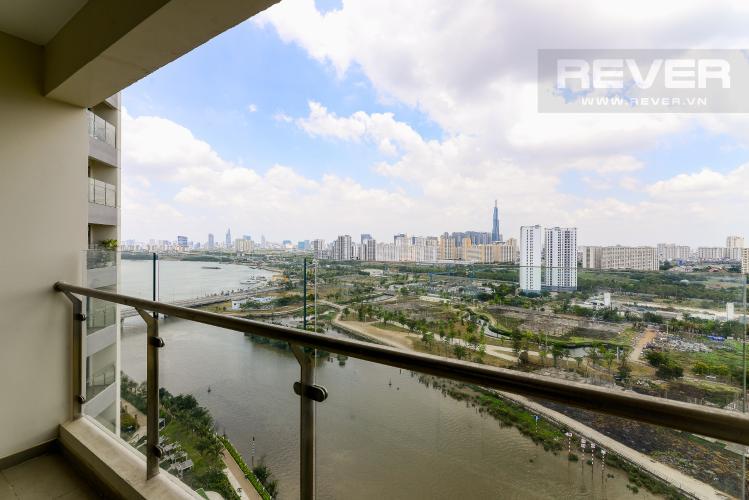 View Balcony Bán căn hộ Diamond Island - Đảo Kim Cương 3 phòng ngủ, đầy đủ nội thất, view sông mát mẻ