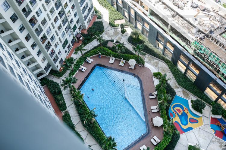 View Căn hộ Masteri Thảo Điền tầng cao T5 mới giao nhà, nội thất đầy đủ