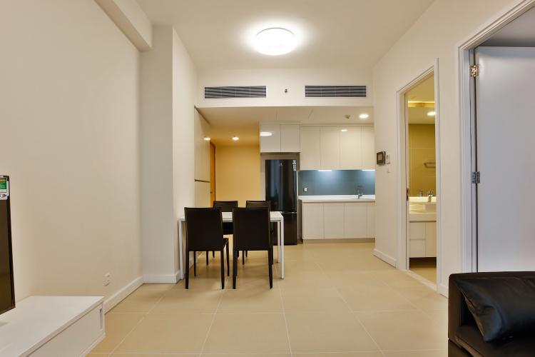 Phòng Khách Căn hộ Gateway Thảo Điền tầng cao, 1PN, nội thất đầy đủ
