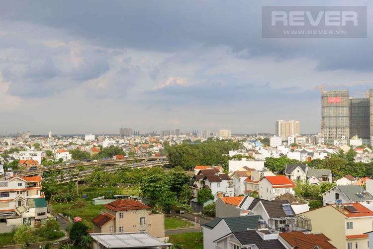 View Cho thuê căn hộ The Sun Avenue 2PN, block 6, đầy đủ nội thất, hướng Đông Nam đón gió