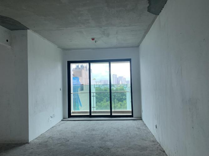 Phòng khách  Feliz En Vista Căn hộ Feliz En Vista tầng 12, bàn giao thô, 2 phòng ngủ.
