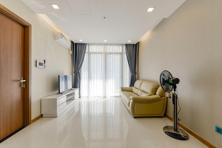 Officetel Vinhomes Central Park 1 phòng ngủ tầng trung Park 7