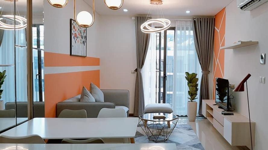Phòng khách Hado Centrosa Garden, Quận 10 Căn hộ tầng cao Hado Centrosa Garden nội thất đầy đủ.
