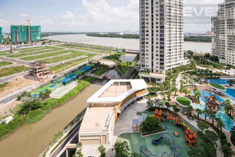 View Cho thuê căn hộ officetel Diamond Island - Đảo Kim Cương tháp Canary, đầy đủ nội thất, view sông thoáng mát