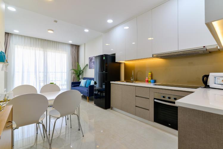 Cho thuê căn hộ Masteri Millennium 65m2 2PN 1WC, nội thất cao cấp, view thành phố