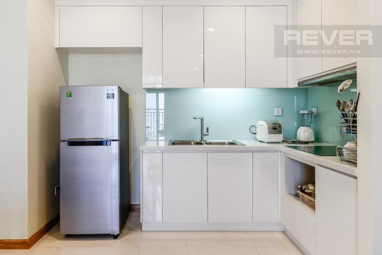 Nhà Bếp Căn hộ Vinhomes Central Park 2 phòng ngủ tầng cao C3 nội thất đầy đủ